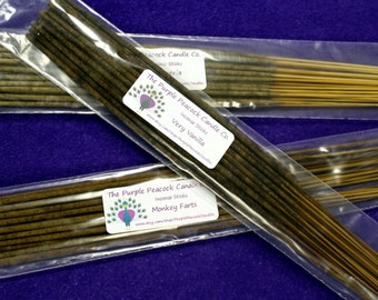 Patchouli Incense Sticks, Hand dipped Incense Sticks, Patchouli Incense, Hippie Incense Sticks, 100 Incense Sticks, Musk Incense, Incense