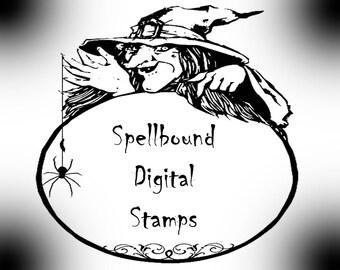 Spellbound Digital Stamp Set