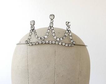 1930s Tiara / vintage tiara / 30s Evening Crown