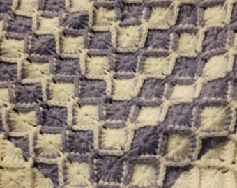 Baby afghan/crib blanket