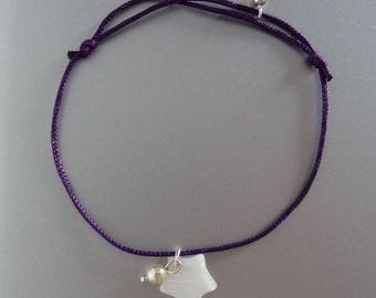 Pearl bracelet with star