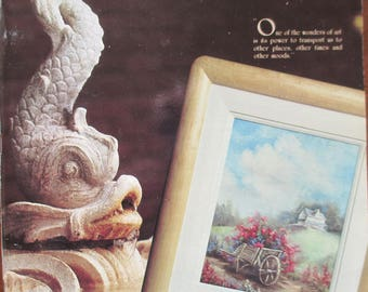 The Decorative Painter magazine  1987 September-Octoberl Vol XV No 5  back issue 118 pages used magazine