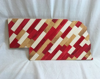 Nebraska Cut Out - Wood Art - Made to Order
