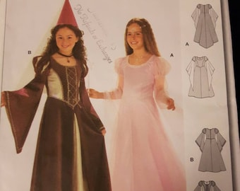 Burda 2463, Princess Costume Pattern