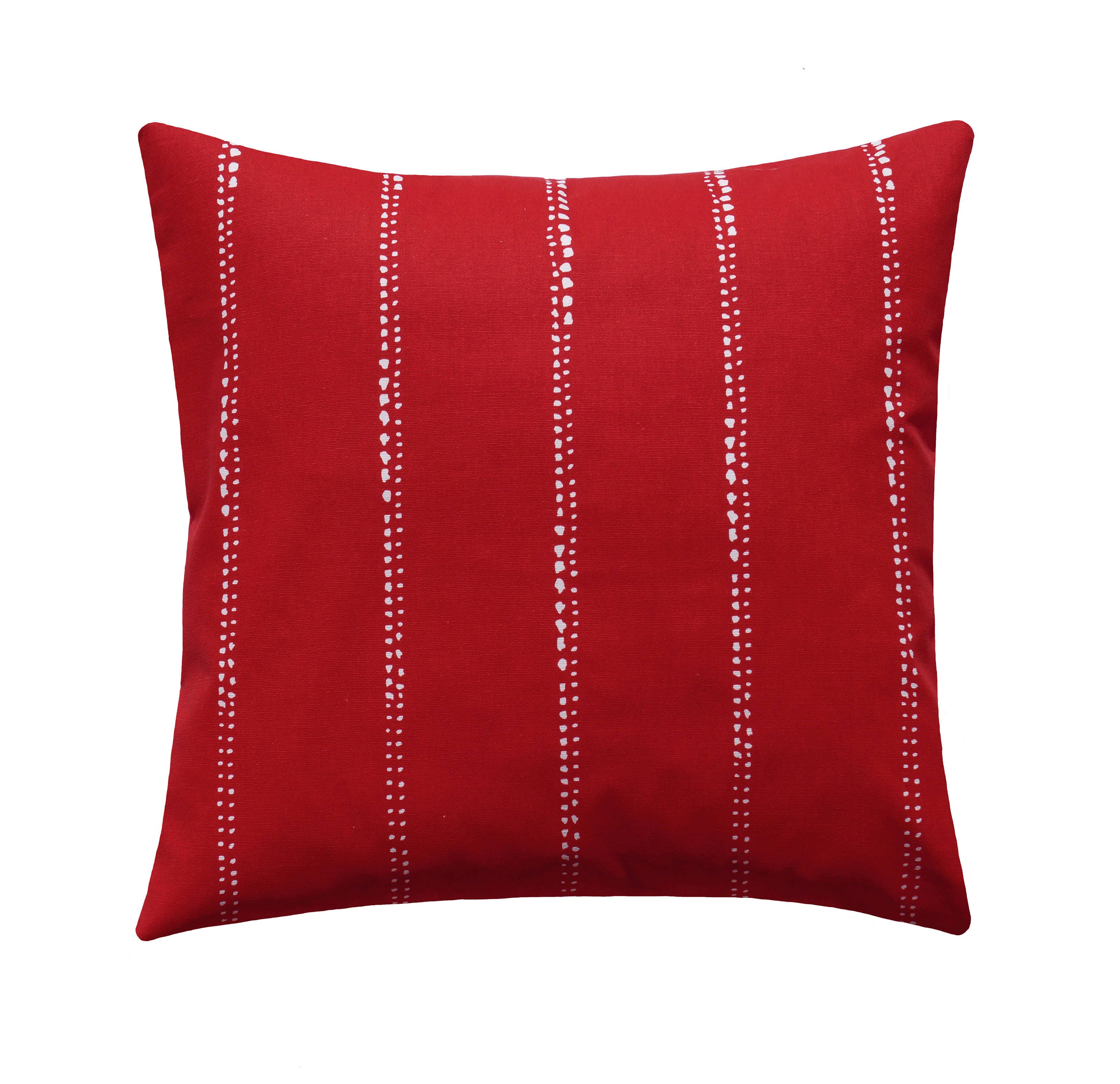 Red White Pillow Covers Red Throw Pillow Carlos Lipstick Red
