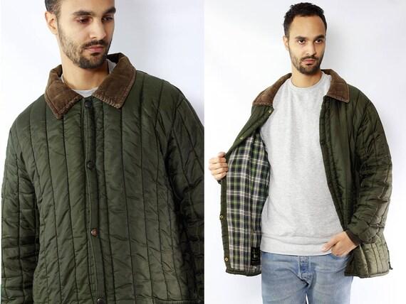 Barbour Coat Green / Green Barbour Coat / Barbour Jacket Green / Green Barbour Jacket / Quilted Jacket Green / Quilted Coat Green / Barbour