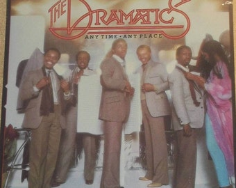The Dramatics Any Time Any Place Sealed Vinyl Soul Record Album