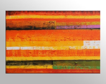 Abstract Painting, Abstract Canvas Painting, Canvas Wall Art, Bedroom Art, Original Artwork, Modern Painting, Canvas Painting, Oil Painting