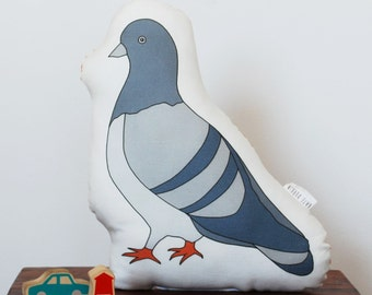 Plush Pigeon Toy, Stuffed Animal