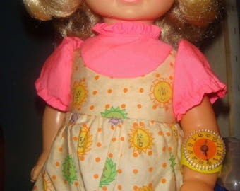 Chatty Mattel 17 Blond Doll 1969 Body 1964 Doesn't Talk But Has Pullstring