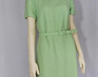 SALE33 Mint boucle' short sleeve dress