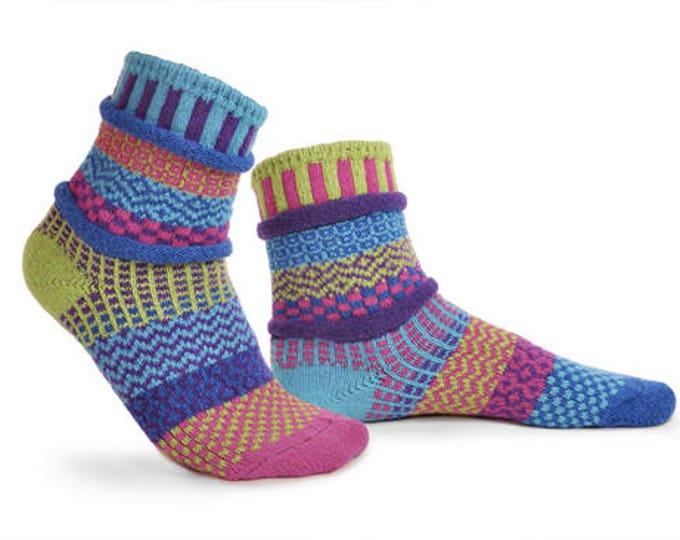Solmate Socks - Bluebell Crew