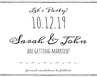 Printable Save the Date JPG