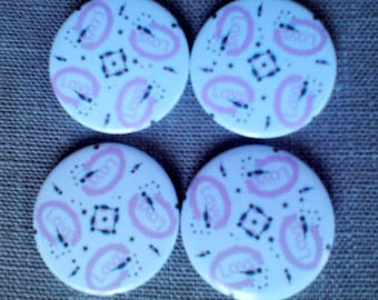 Magnet button love design