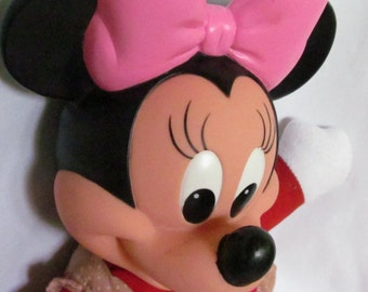 Minnie Mouse Doll Buckle My Shoe Walt Disney Character Doll Children Learning Toy To Button Toddler Girl Toy Dolls Disneys Minnie Mouse Doll