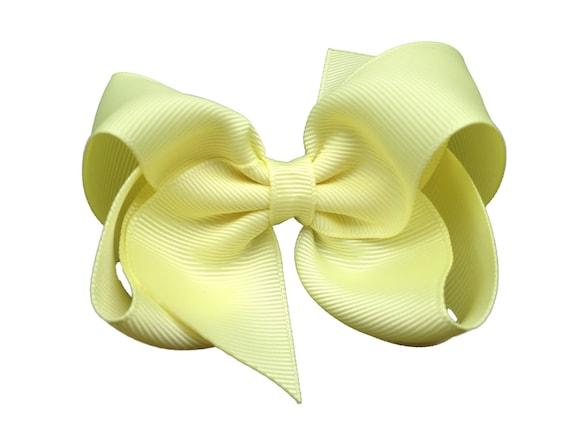 Light Yellow Hairbows