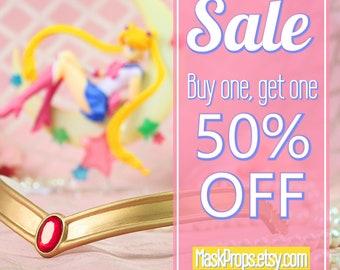 SALE - Sailor Moon Crystal inspired cosplay tiara replica