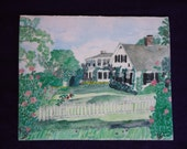 The Big House note card c...
