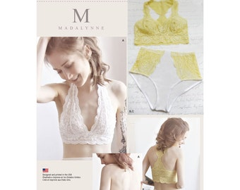 Simplicity Sewing Pattern 8228 Misses' Soft Cup Bras and Panties