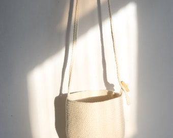 Cotton Rope Bucket Bag