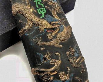 Vintage Nine Sons of the Dragon Ink Stick