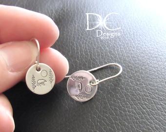 Polar Bear Earrings, Bear Jewelry, Sterling Silver Earrings, Animal Earrings, Stud Earrings, Nature Earrings, Bear Earrings, Gift for Her
