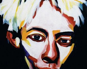 Radiohead's Thom Yorke portrait print Signed & Numbered