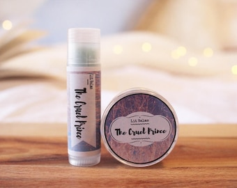 The Cruel Prince Lip Balm | Inspired by The Cruel Prince by Holly Black
