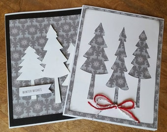 Woodland Winter Cards 5-Pack