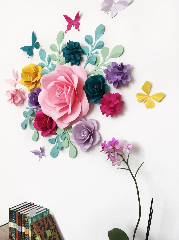 Ducha Grupo Decor Flores De Papel De Fiesta De Cumplea Os # Muebles Cadena Flores