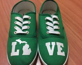 LOVE Michigan Shoes. Pure Michigan.