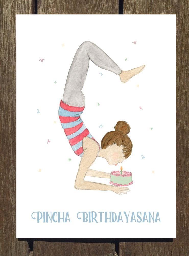 открытка с днем рождения йогу секрет, что