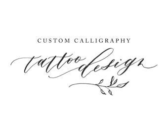 Calligraphy Tattoo Design