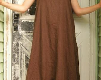 Long Swirly Slip Dress