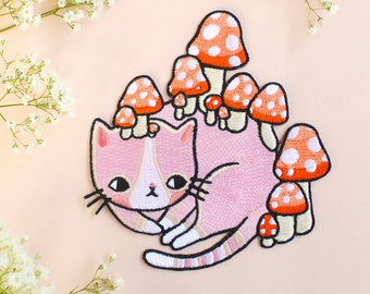 Mushroom Kitty Patch