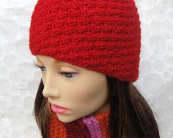 KNITTING PATTERN Cloche Hat Handmade Beanie Gift for Women Unique Boho Knit Hat Instant Digital Download Sister Mom Christmas Gift CHLOE