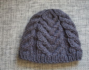 Youth Cable Knit Hat