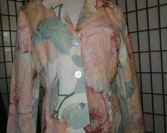 Women's Floral Pastel Jacket