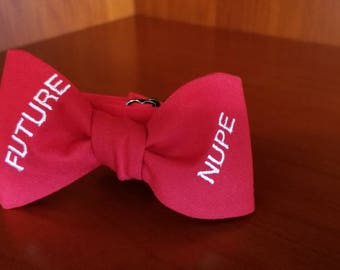 """Kappa Alpha Psi Fraternity, Inc. """"FUTURE NUPE"""" Pre-tied BowTieByEDJ - RED"""