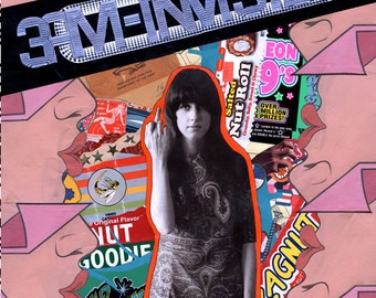 3am-invisible by Karl Noyes - Minneapolis collages collage zine