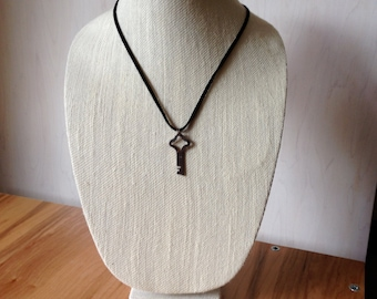 Vintage Flat Key Necklace