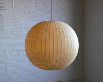 George Nelson for Howard Miller Large Ball Pendant Lamp