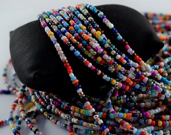 African Waist Beads, Waist Beads, mixed color African Waist Beads No3