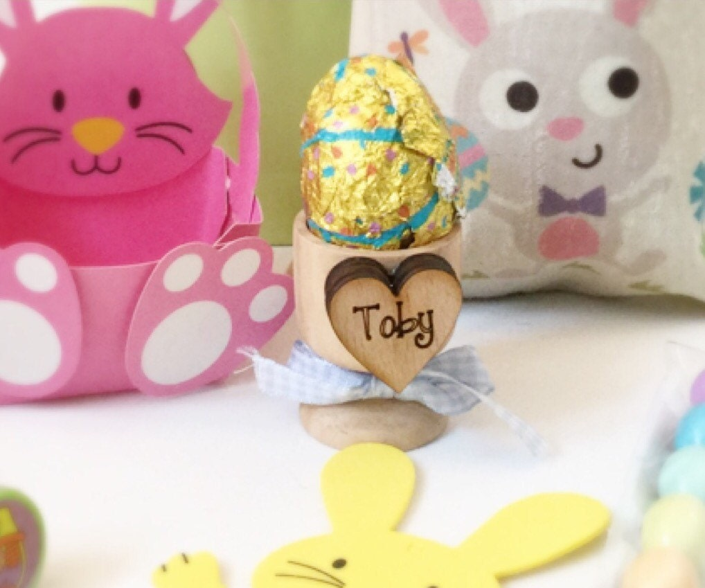 Easter gift easter basket personalised egg cups babys 1st babys 1st easter personalised easter basket gallery photo gallery photo gallery photo negle Image collections