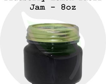Blueberry Lemon Basil Jam / Jelly - Organically Grown Ingredients Homemade Small Batch - Free Shipping, Great Gift!