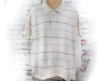 men's knit shirt, collared knit shirt, short sleeve shirt,polo shirt, size XX L  (XX large),   # 9
