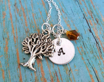 Initial Necklace - Personalized - Neckace - Personalized Necklace - Women's Jewelry - Gift for Girls - Gift for Teens - Gift for Women