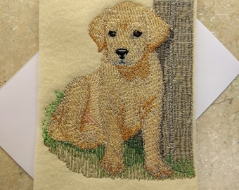 Any Occasion Cards - Labrador Puppy