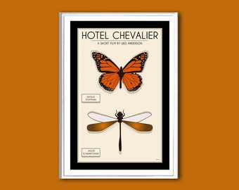 Butterfly Hotel Chevalier movie poster print in various sizes