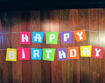 Pocoyo Birthday Banner